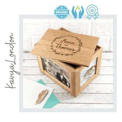 Caja personalizada hecha a mano