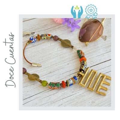 Collar étnico africano artesanal