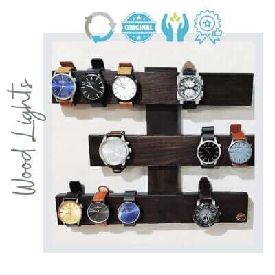 Organizador de pared de relojes.