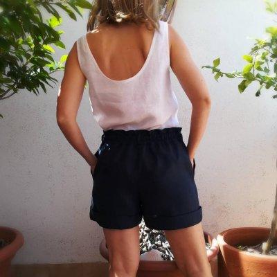 Shorts Verano Elásticos a Mano