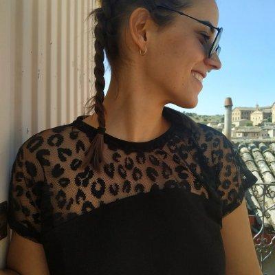 Tapa de recorte de Leopardo de encaje