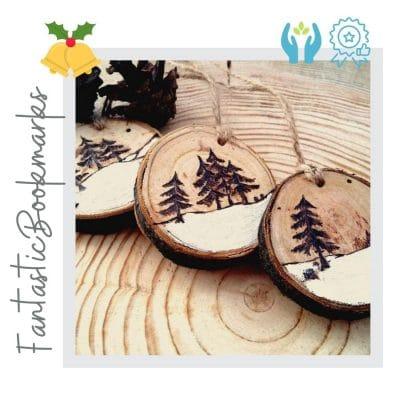 adornos de madera