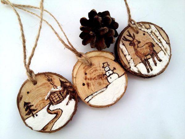 adornos madera