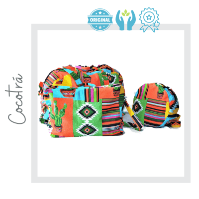 pack de bolsos hechos a mano estilo mexicano