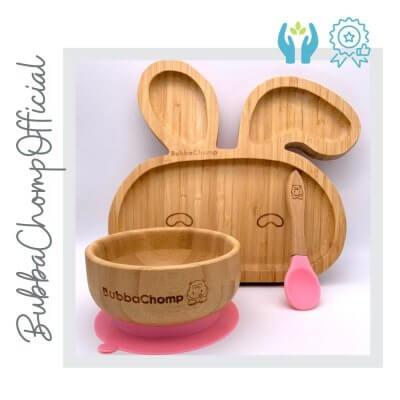 set platos conejo